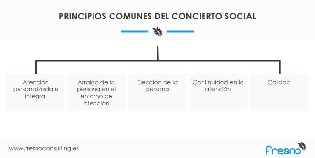 Principios del concierto social
