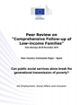 Can public social services alone break the generational transmission of poverty?: Peer Review on